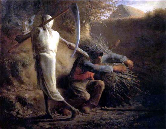 밀레/죽음과 나무꾼