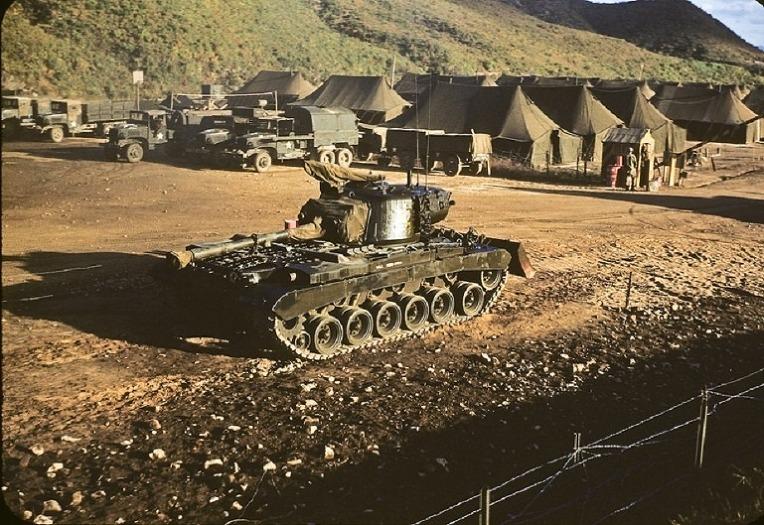 한국전쟁에서만 사용되었던 미군 M46 패튼 전차-U.S military M46 Patton Tanks used only in the Korean War