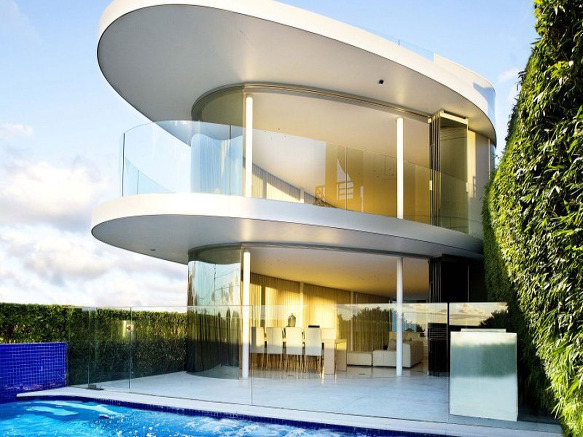 for Casas modernas futuristas