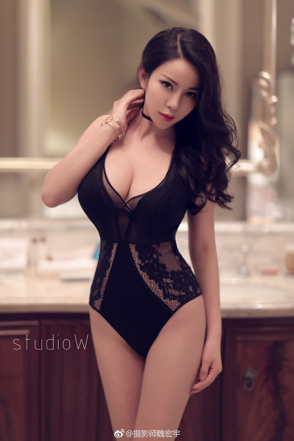 hot mood Chinese girl