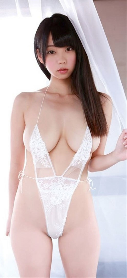 hot Japanese girl in sexy lingerie